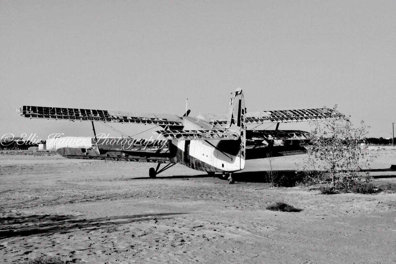 Abandoned plane in the U.A.E